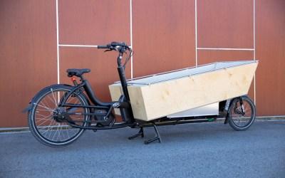 Einzigartiger Aufbau für ein e-Bike