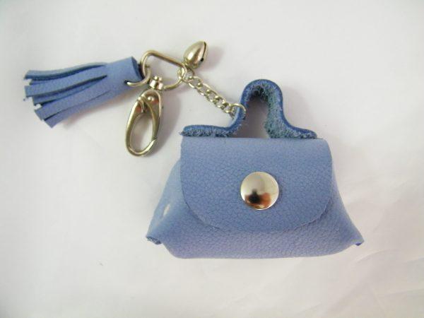 porte-clés en cuir à grelot made in France