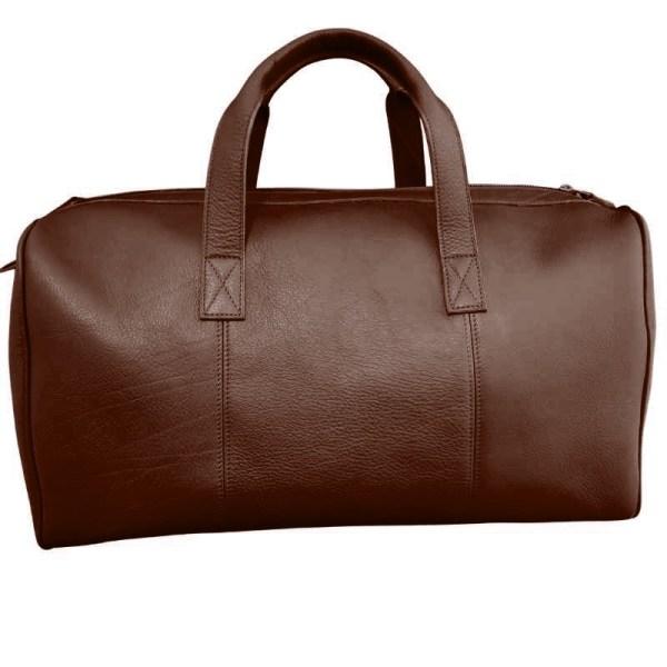 sac personnalisable marron