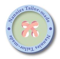 Nannies Tailor-made logo as part of brand development