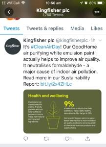 Sustainability Infographic twitter 2019