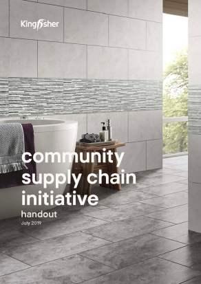 Kingfisher Community Supply Chain document
