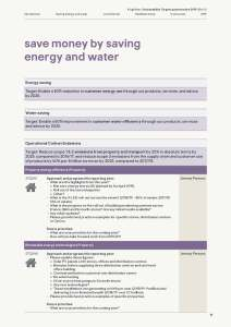 Kingfisher Sustainability Targets questionnaire 2019 sample page
