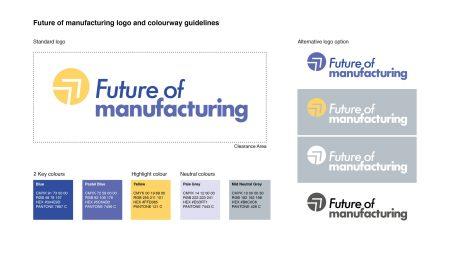 Future of manufacturing brand guide