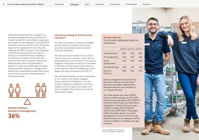 Kingfisher 'Our Home, Our World' RB Report 2021 Gender Balance