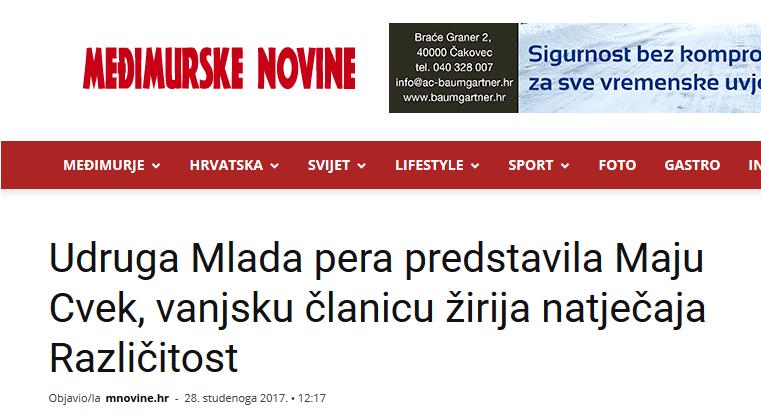 Online izdanje Međimurskih novina