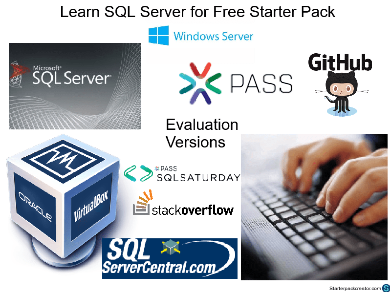 Learn SQL Server Starter Pack