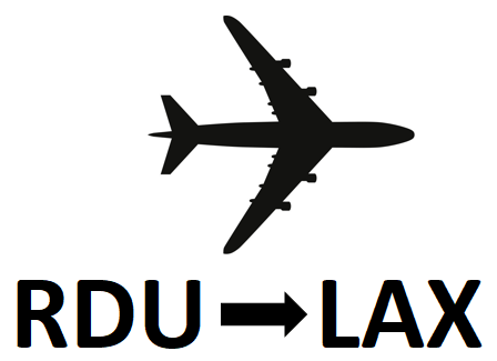 RDU to LAX