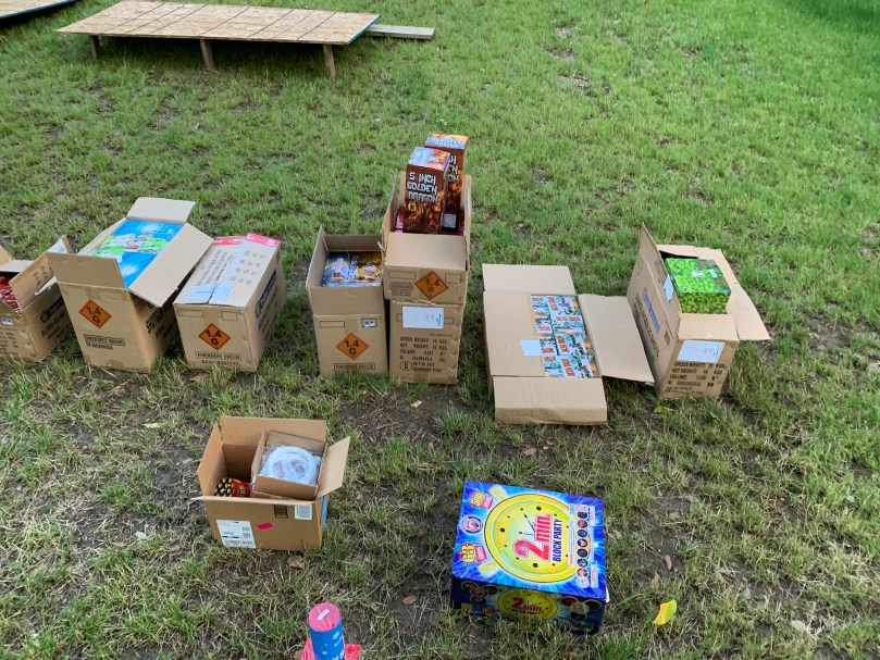 Fireworks unboxing