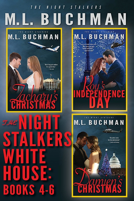The Night Stalkers White House: Books 4-6