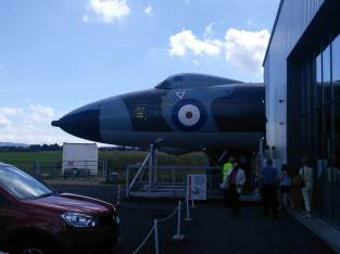 The Jet Age Museum near Gloucester Airport.