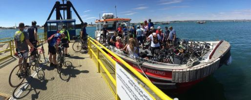 Hayling Island Ferry. Room for one more?