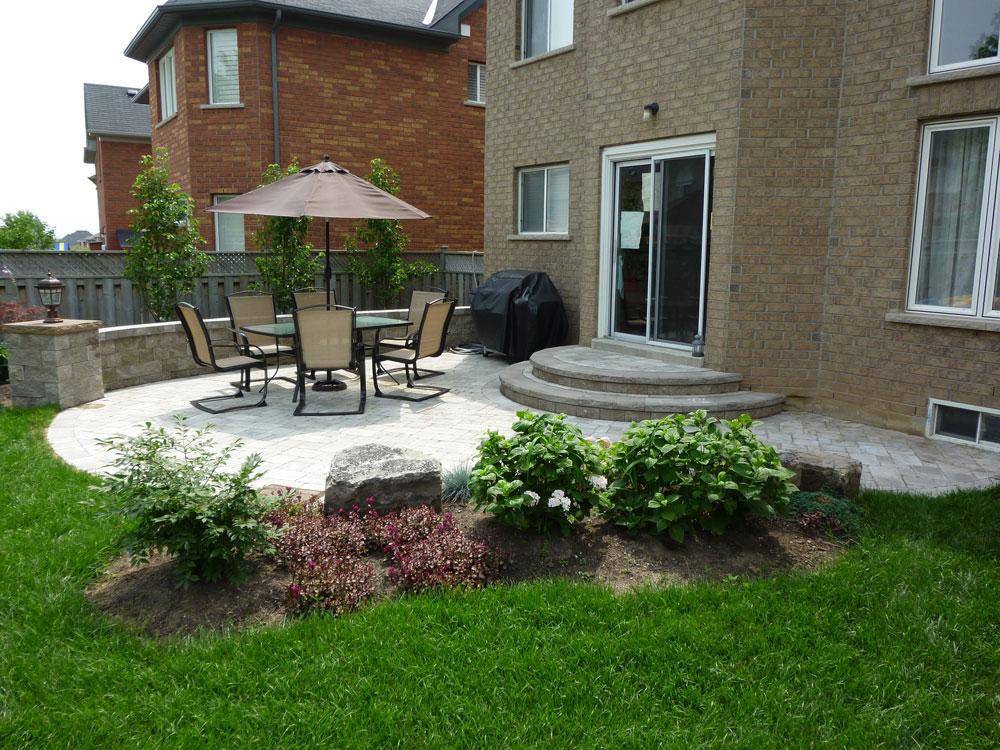 New patio designs. decks patios amp outdoor enclosures. new garden ...