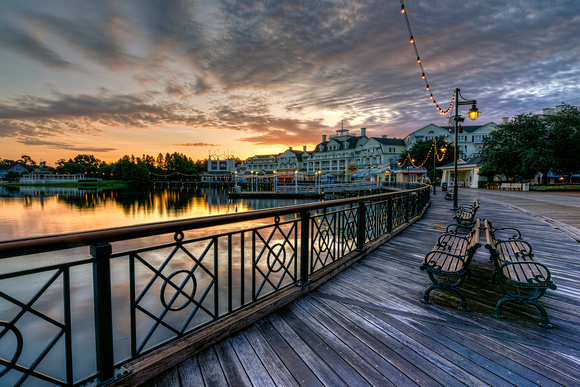 MLCreations Photography: Around WDW &emdash; Boardwalk Morning