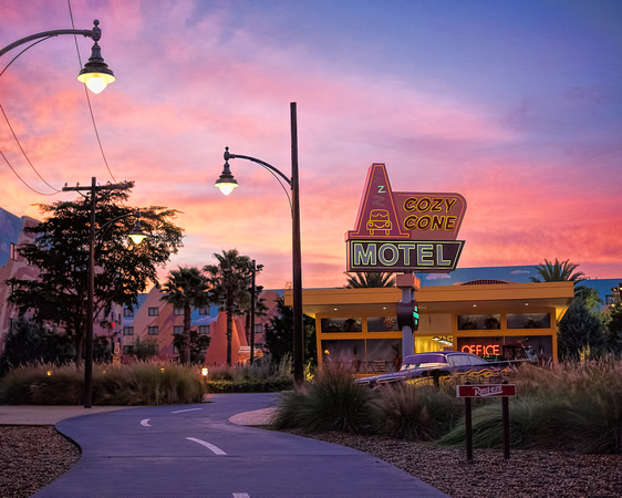 MLCreations Photography: Around WDW &emdash; Morning on Route 66