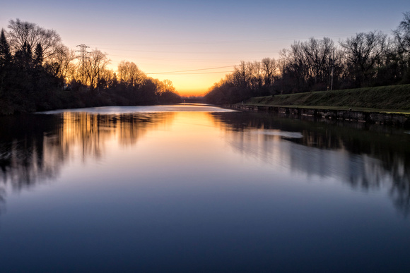 MLCreations Photography: Blog Post Related &emdash; Pre-Dawn Canal