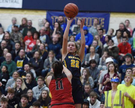 Michigan Center take on Grass Lake in District Women's Basketball Semifinal
