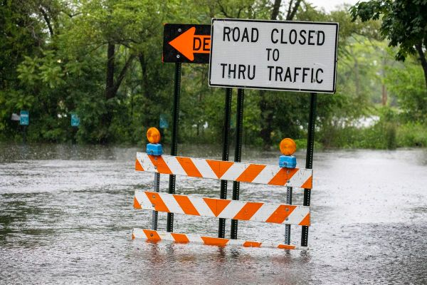 Road Weather Closures Kansas Road Closures Due To Flooding