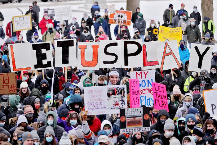 Let Them Play!!!  A clear message as thousands flock to Capitol to protest