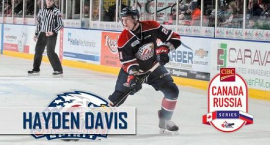 Hayden Davis named to Team OHL roster for 2018 CIBC Canada-Russia ...