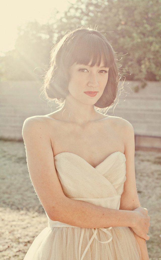 robe-mariage-courte-etsy-bustier