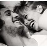 Des amoureux en noir et blanc…