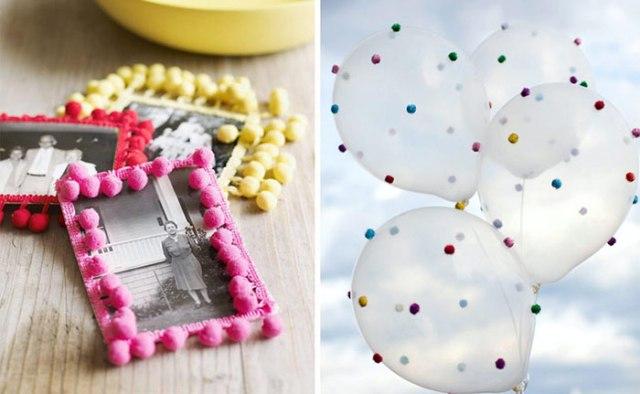decoration-mariage-pom-poms