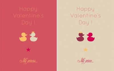 Une jolie carte de Saint Valentin par Anaïs Bertrand