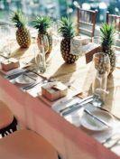 Un mariage sur le thème de l'ananas