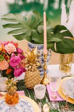 table-mariage-deco-ananas