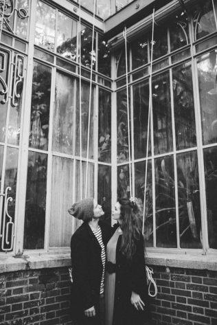 love session en noir et blanc