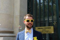 Pacs sous le thème jaune