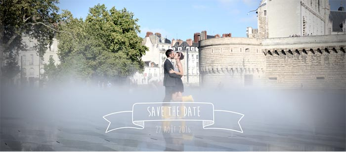save the date à Nantes