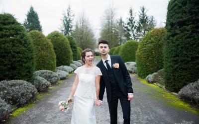 Shooting de mariage en hiver