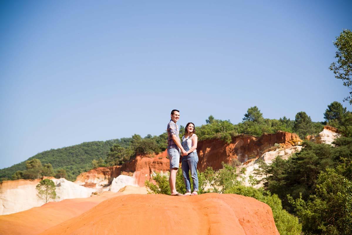 love session dans le colorado provencal