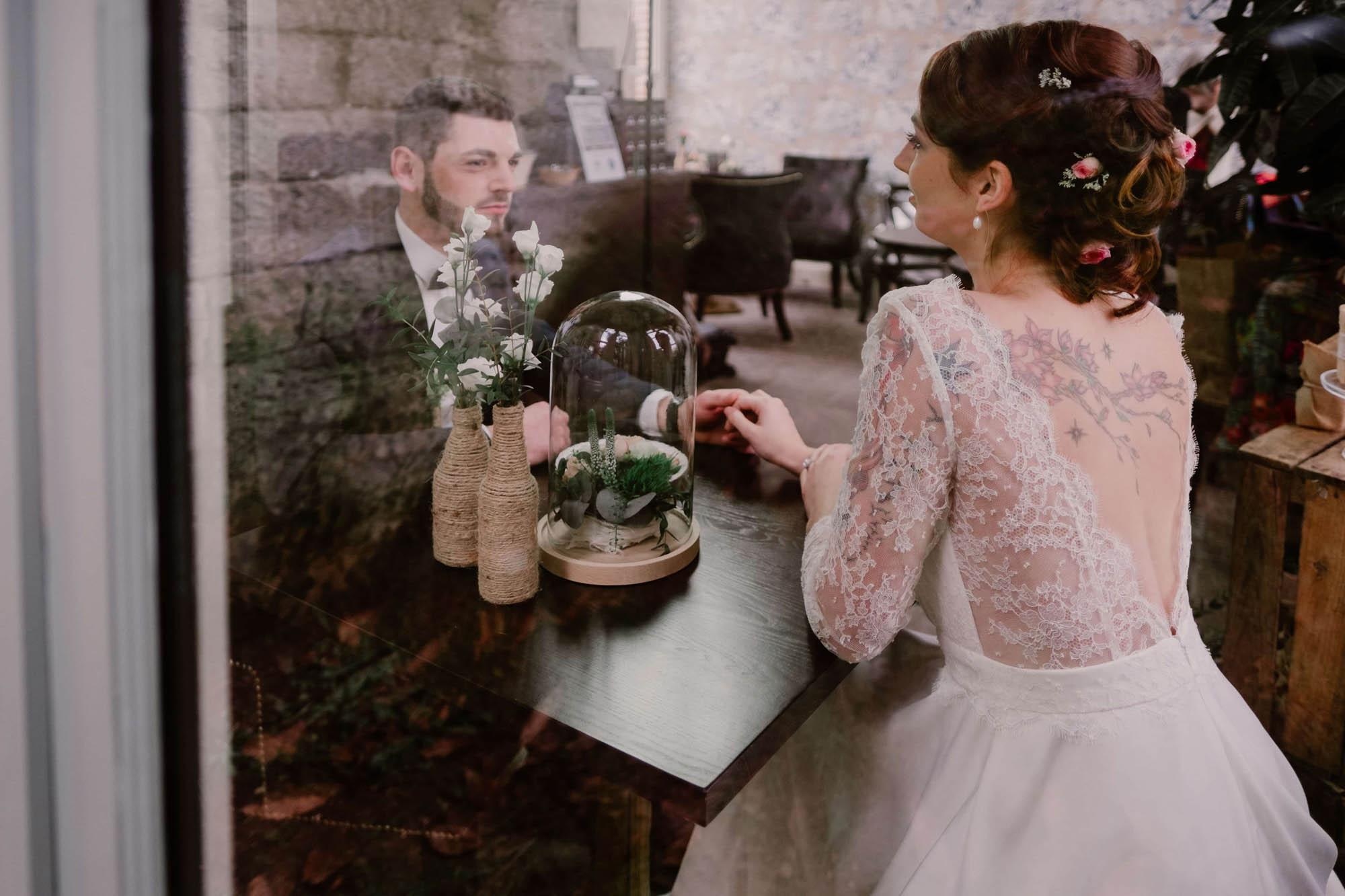 mariage romantique