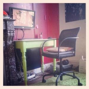 chaise bureau déco