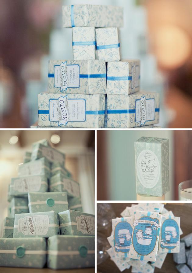 Packaging Jabón, Olivia Soaps by Mr. Wonderful