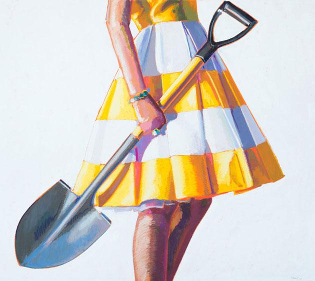 Shovel Study by Kelly Reemtsen
