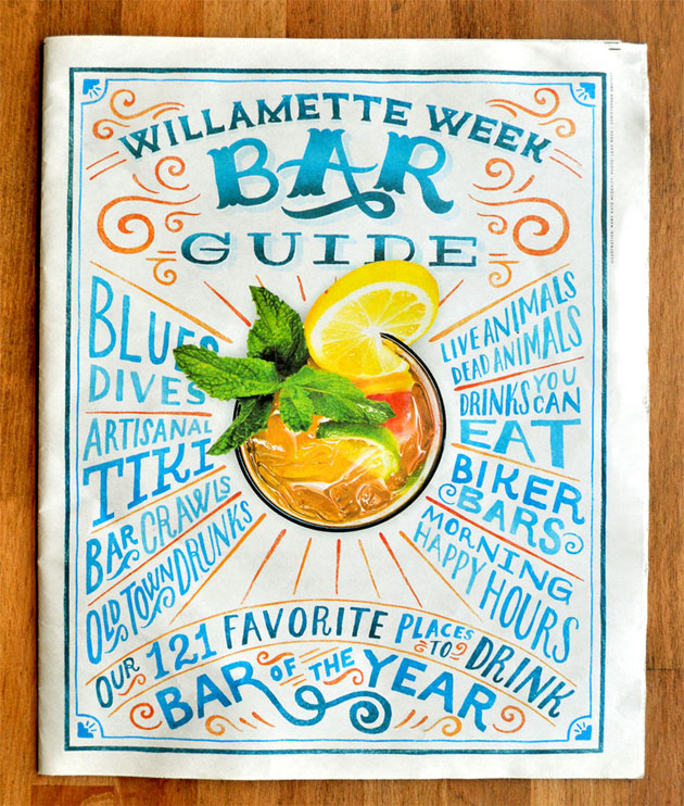 Willamette Week Bar guide by Mary Kate McDevitt
