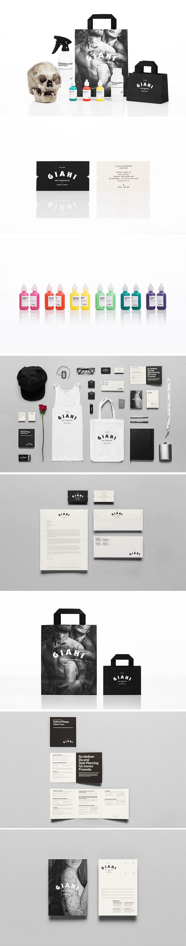 Giahi Corporate branding by Anagrama