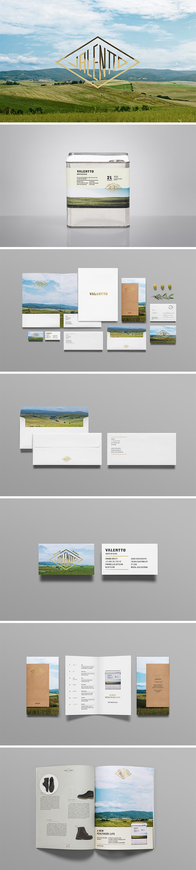 Valentto Product branding by Anagrama