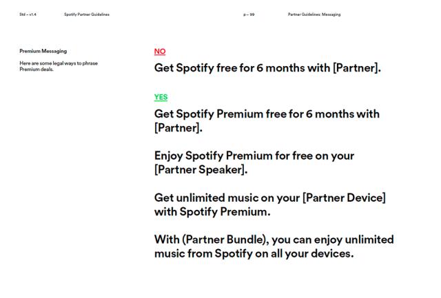 Voz o tono - Guía de Spotify