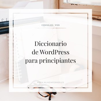 Diccionario de términos de wordpress para principiantes