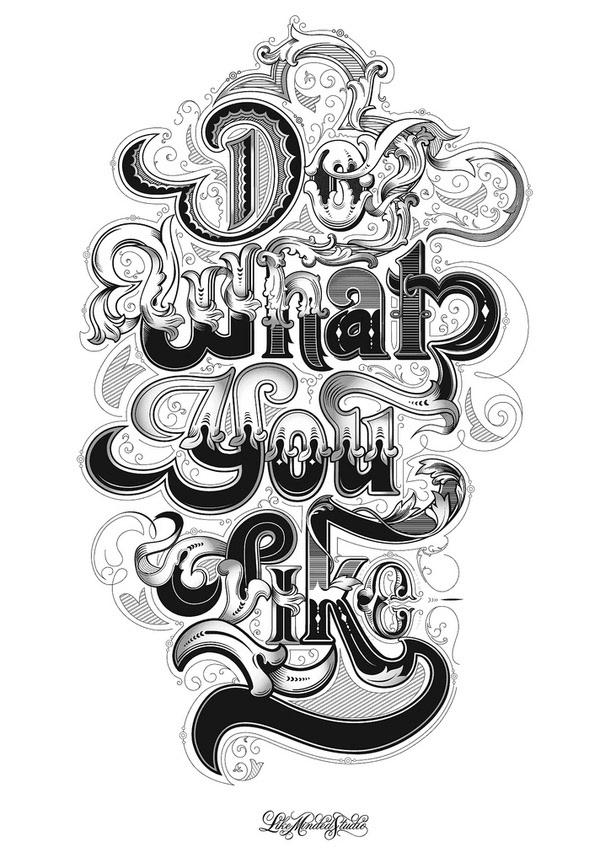 """Do what you like"" by Like Minded Studio  | 10 consejos para crear imágenes con citas | mlmonferrer.es"