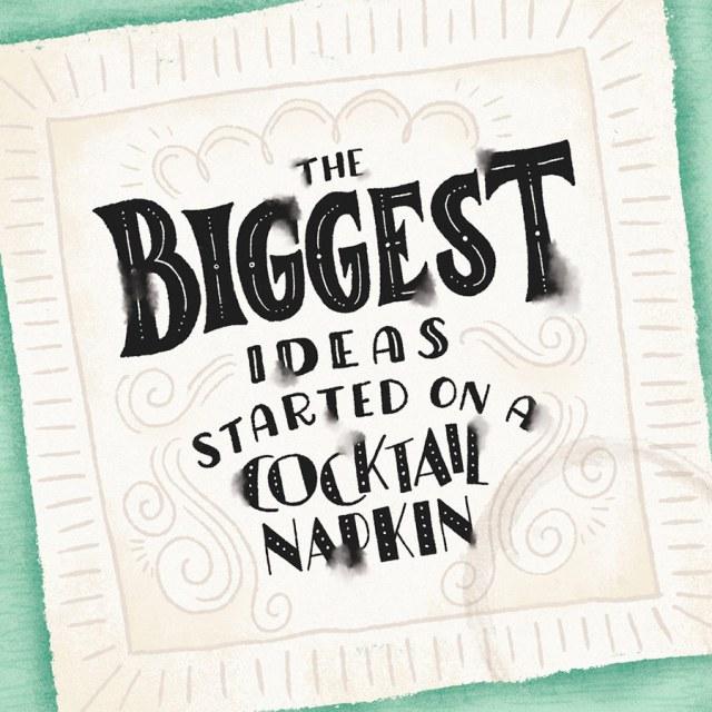 """Biggest Ideas"" by Shauna Lynn Panczyszyn  | 10 consejos para crear imágenes con citas | mlmonferrer.es"
