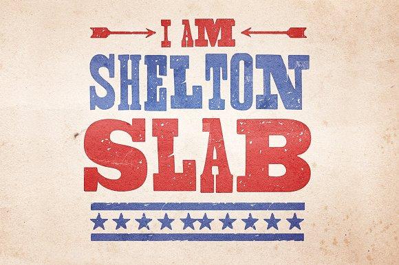 Fuentes inspiradas en el circo | Shelton Slab | MlMonferrer