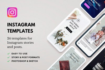 Lush 24 Instagram Templates | Recursos gratuitos de junio para diseñadores  | mlmonferrer.es