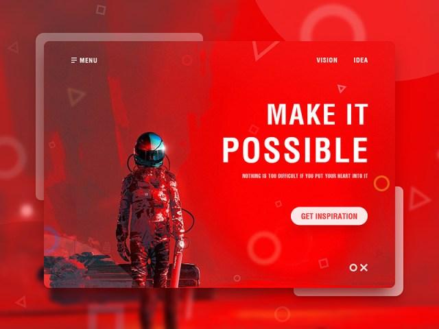 Web UI by Jerry_W    Inspiración web rojo   www.mlmonferrer.es