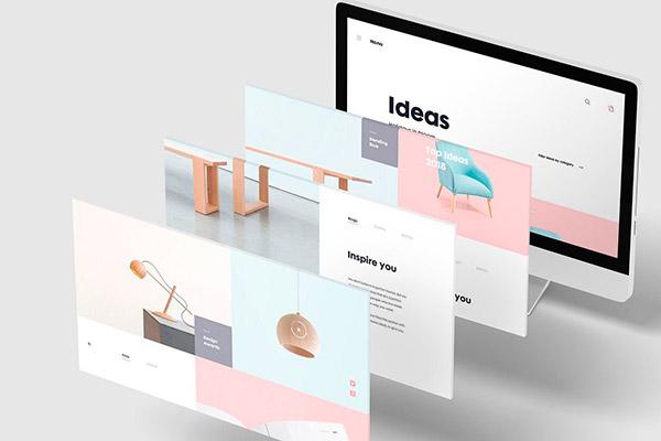 3D Desktop Screen Mockup | Recursos gratuitos de julio para diseñadores | mlmonferrer.es